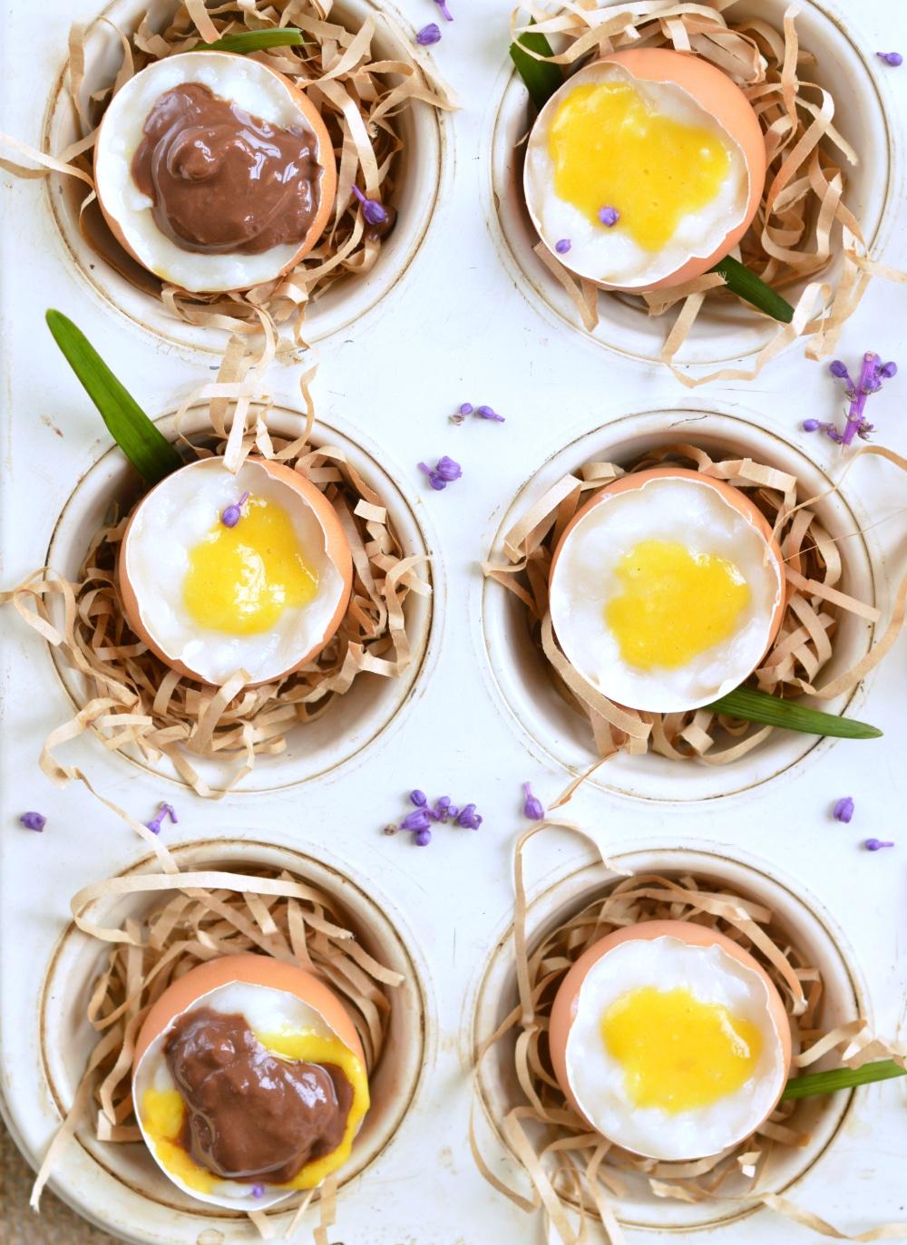 coconut custard egg