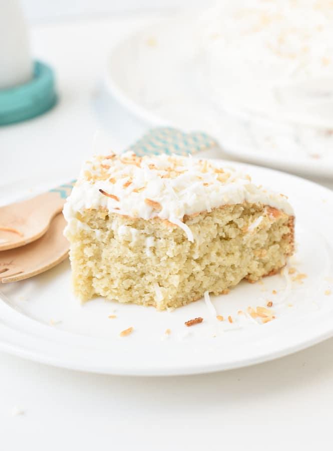 coconut flour keto cake