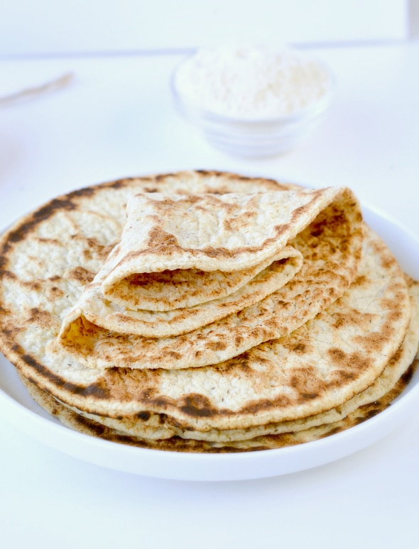 COCONUT FLOUR TORTILLAS