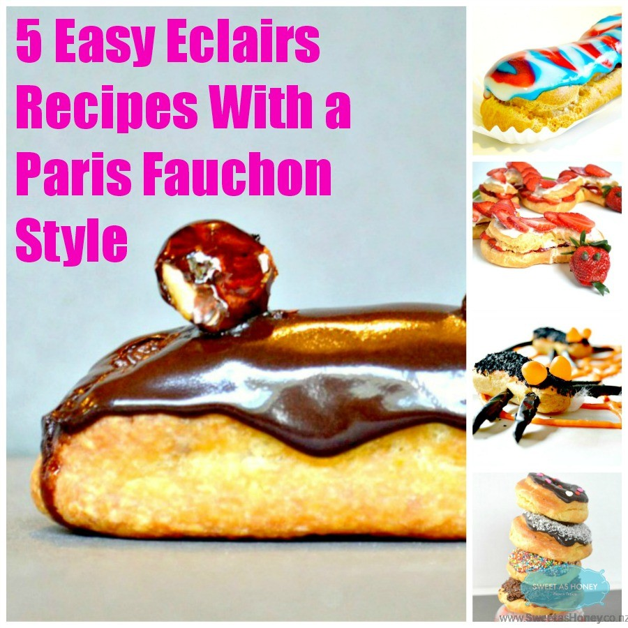 Easy Eclairs recipe