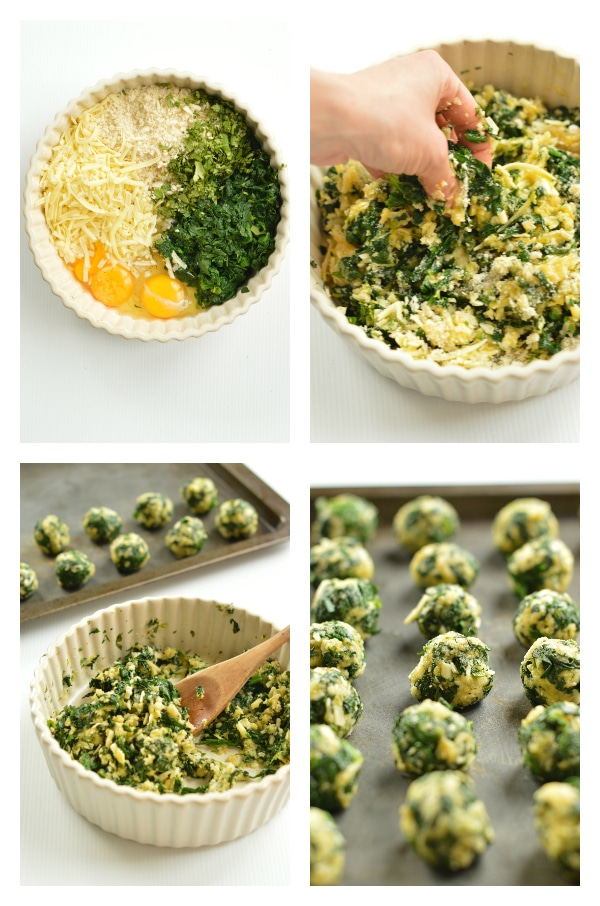 how to make spinach balls ?