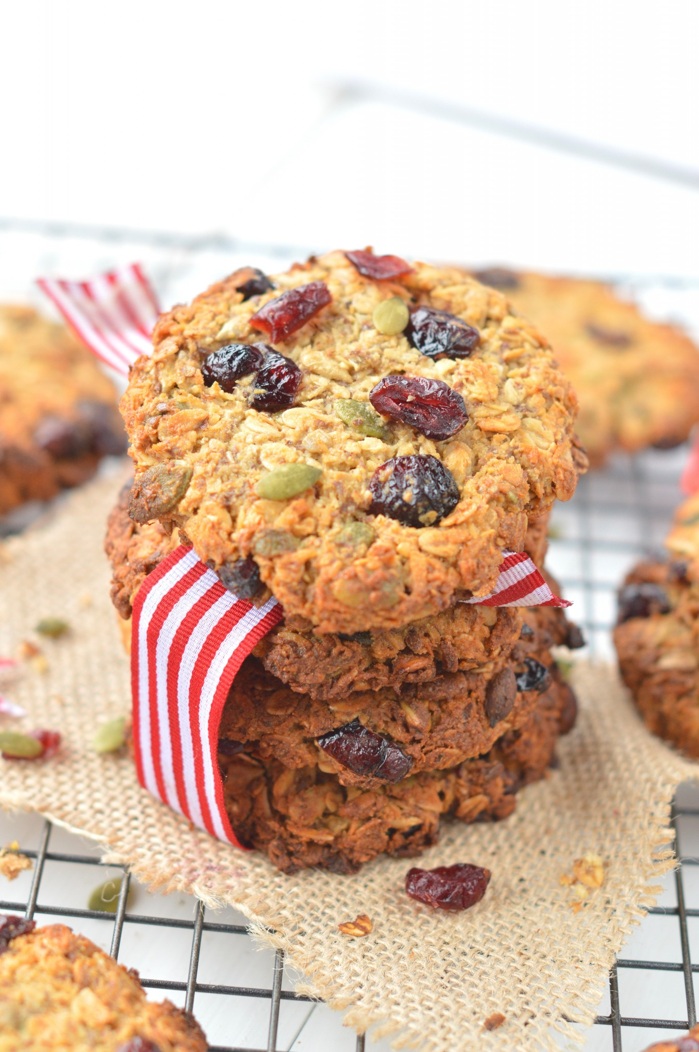 Oatmeal Breakfast Cookies Easy Healthy Sweetashoney