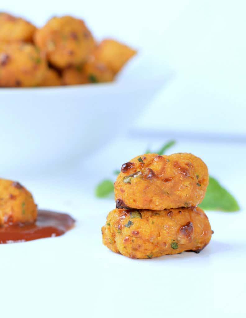 Sweet potato tots | Healthy Lunchbox Snacks
