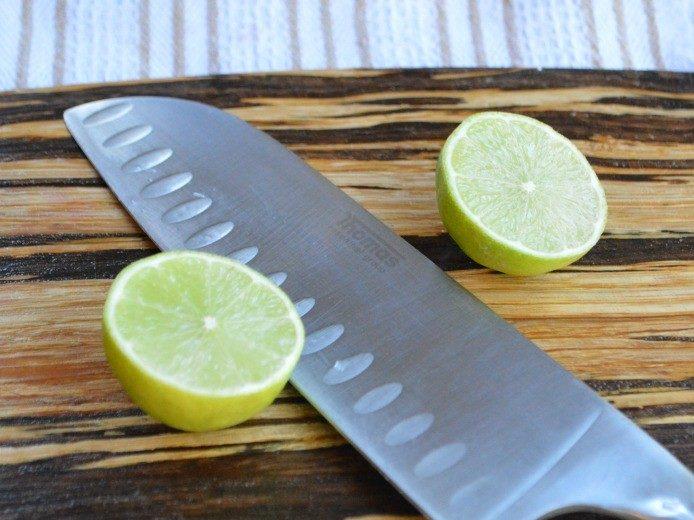 Crosswise Lime Cut