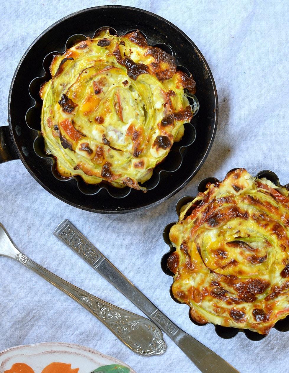 crustless courgette quiche gluten free