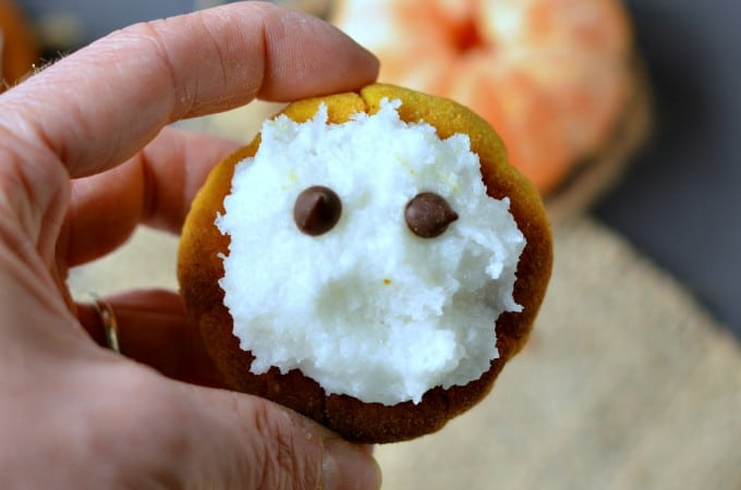 cute healthy sugar free pumpkin cookies