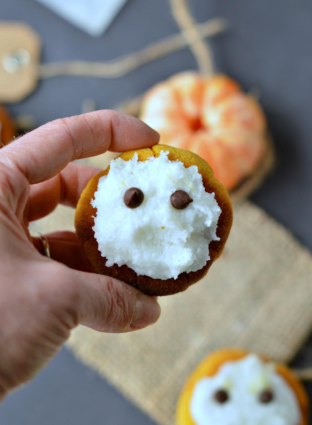 cute healthy sugar free pumpkin cookies