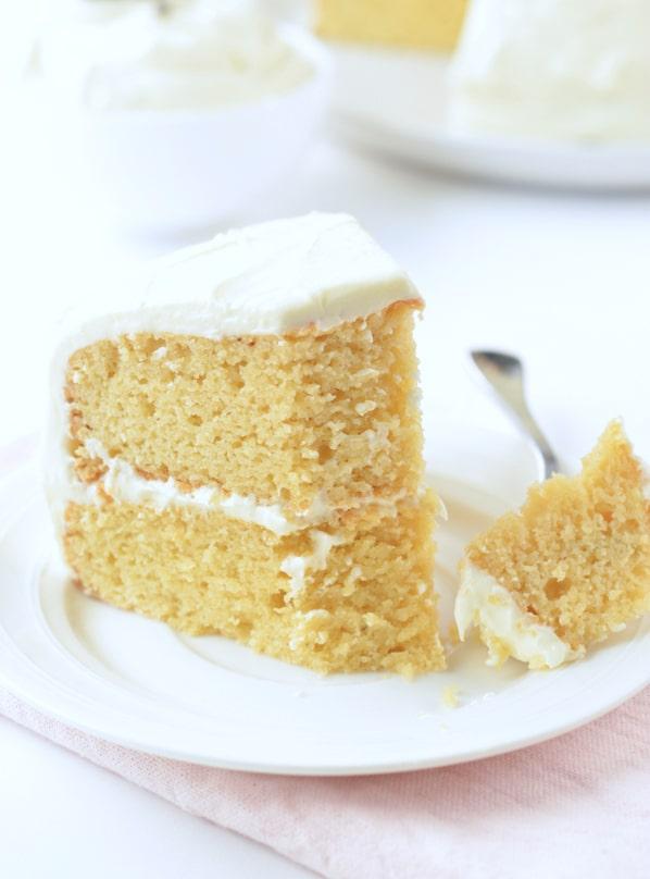 dairy free vanilla cake