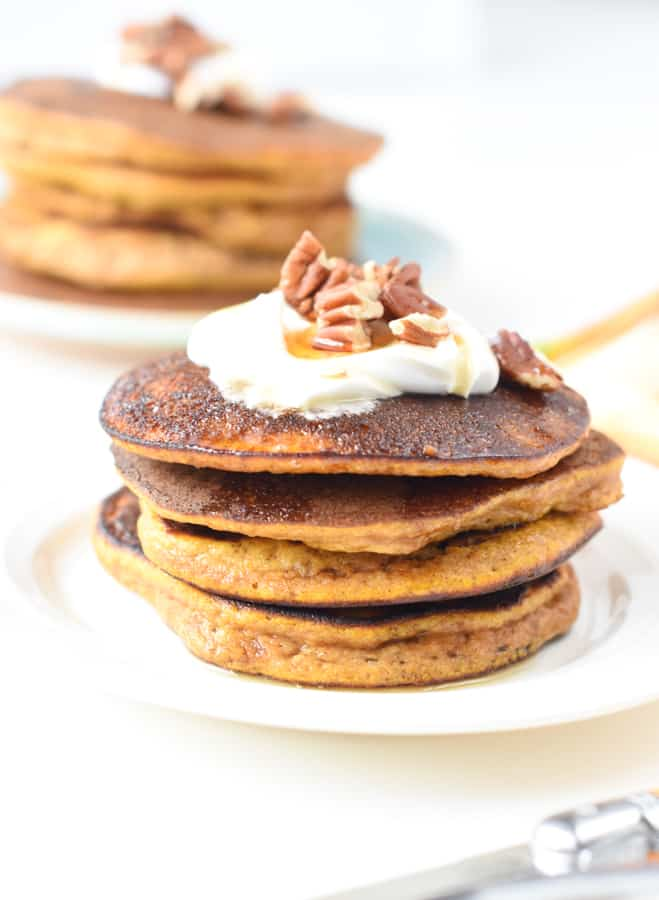 easy keto pumpkin pancakes