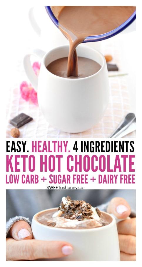 The BEST Keto Hot Chocolate Sugar free