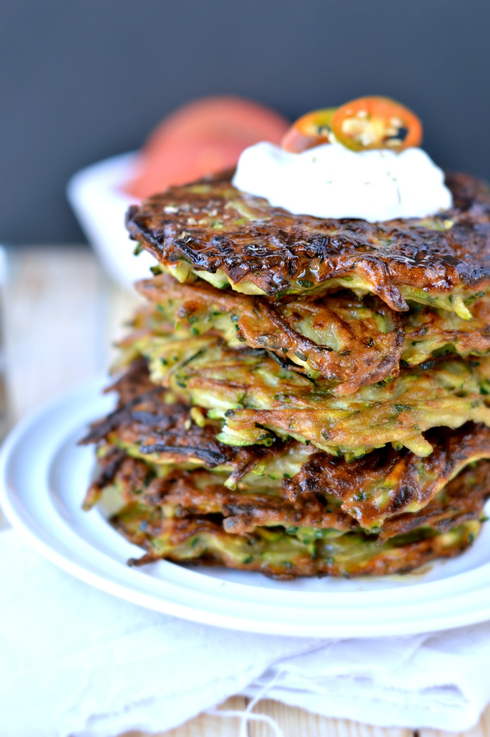 easy zucchini fritter