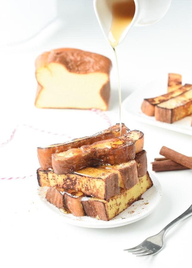 egg loaf french toast keto