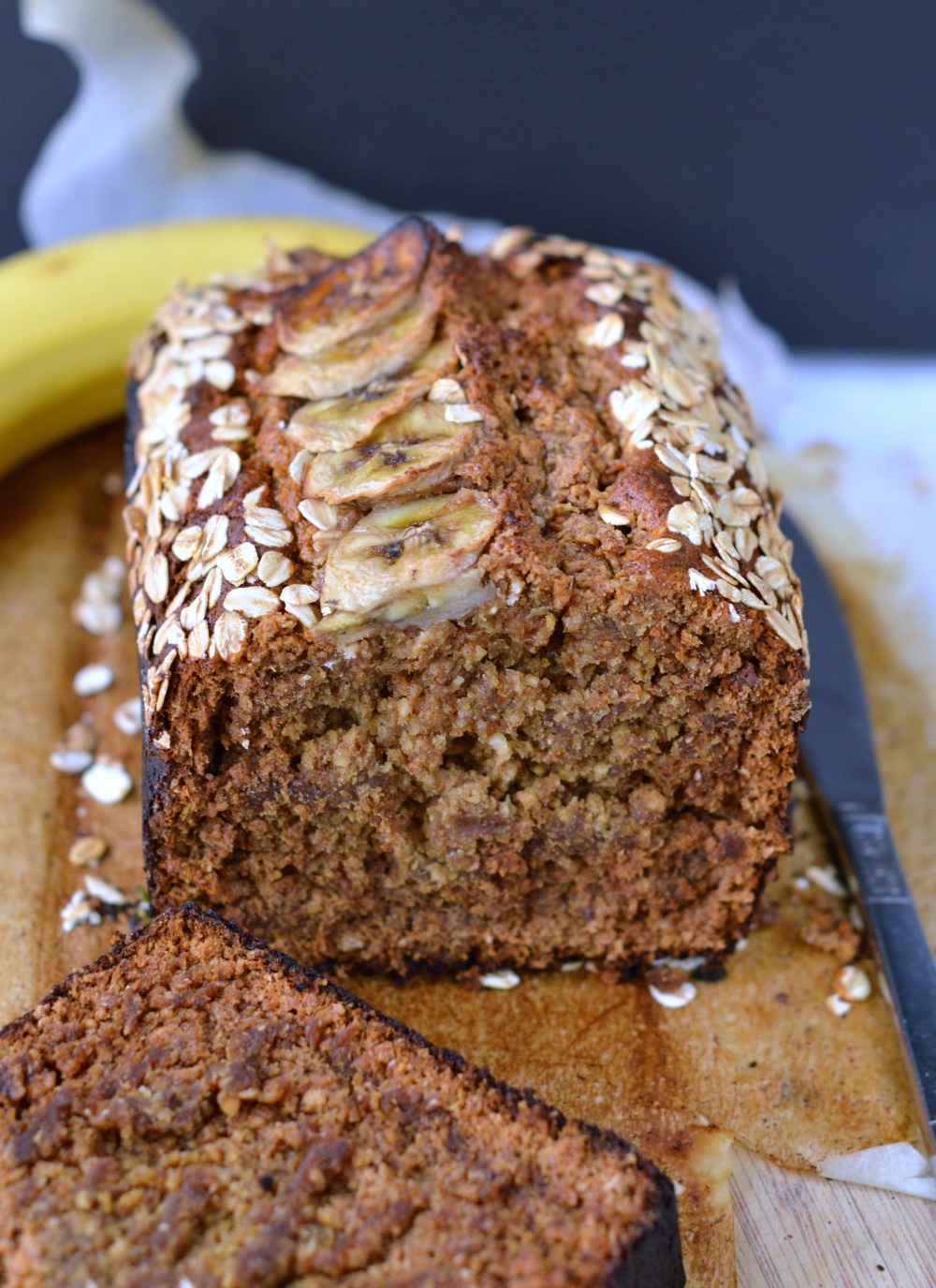 Oatmeal Banana Bread Eggless Banana Bread Sweetashoney