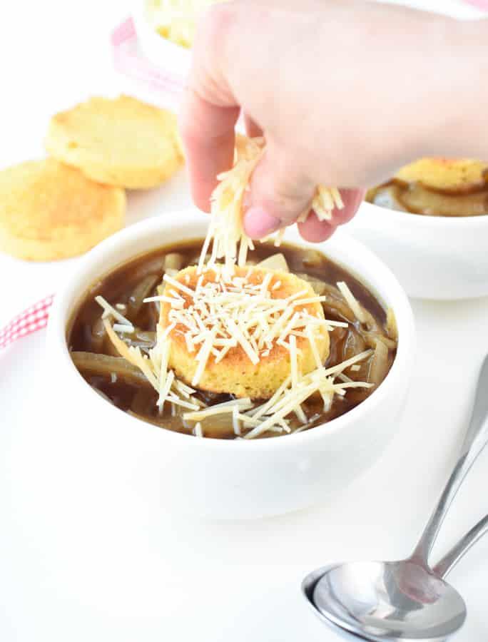 French onion soup keto