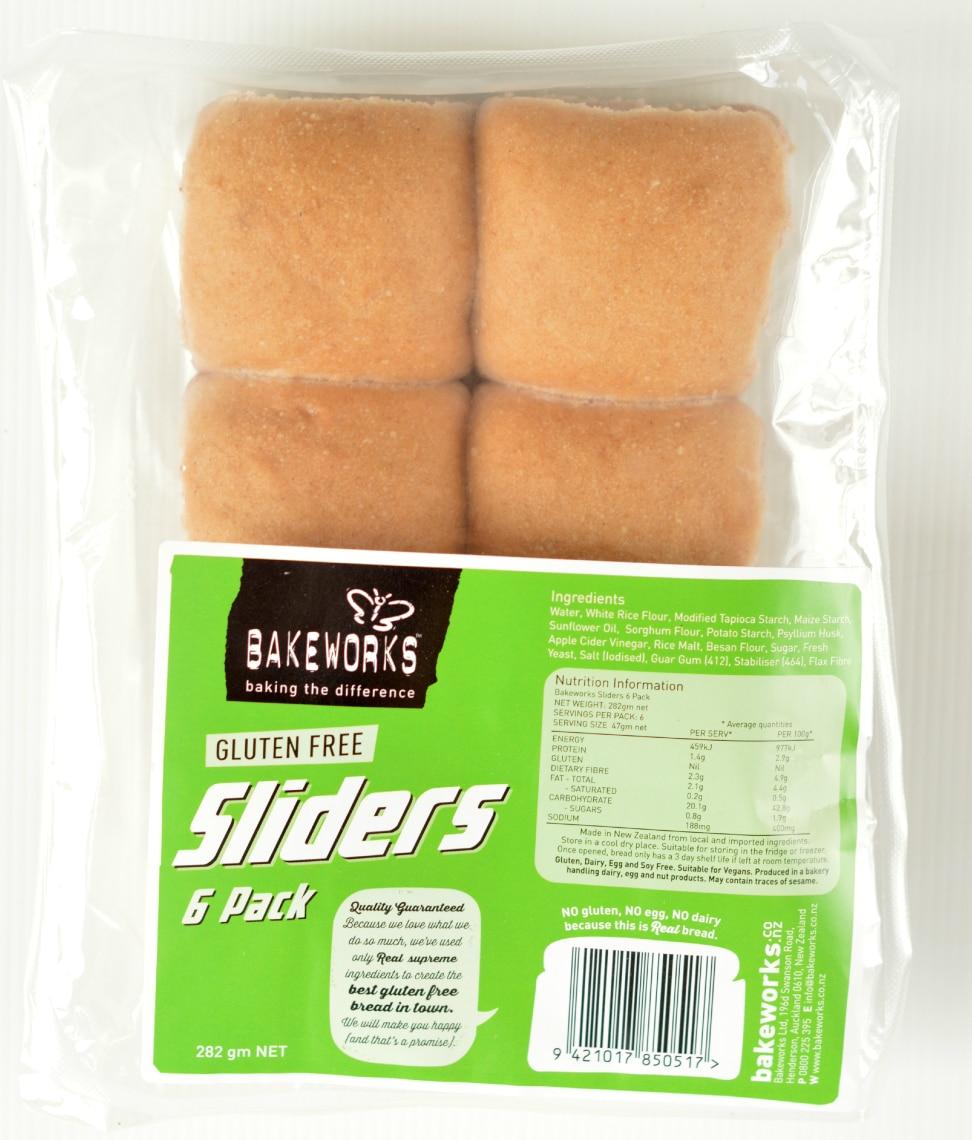 gluten free slider buns