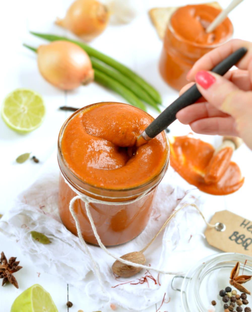 healthy bbq sauce