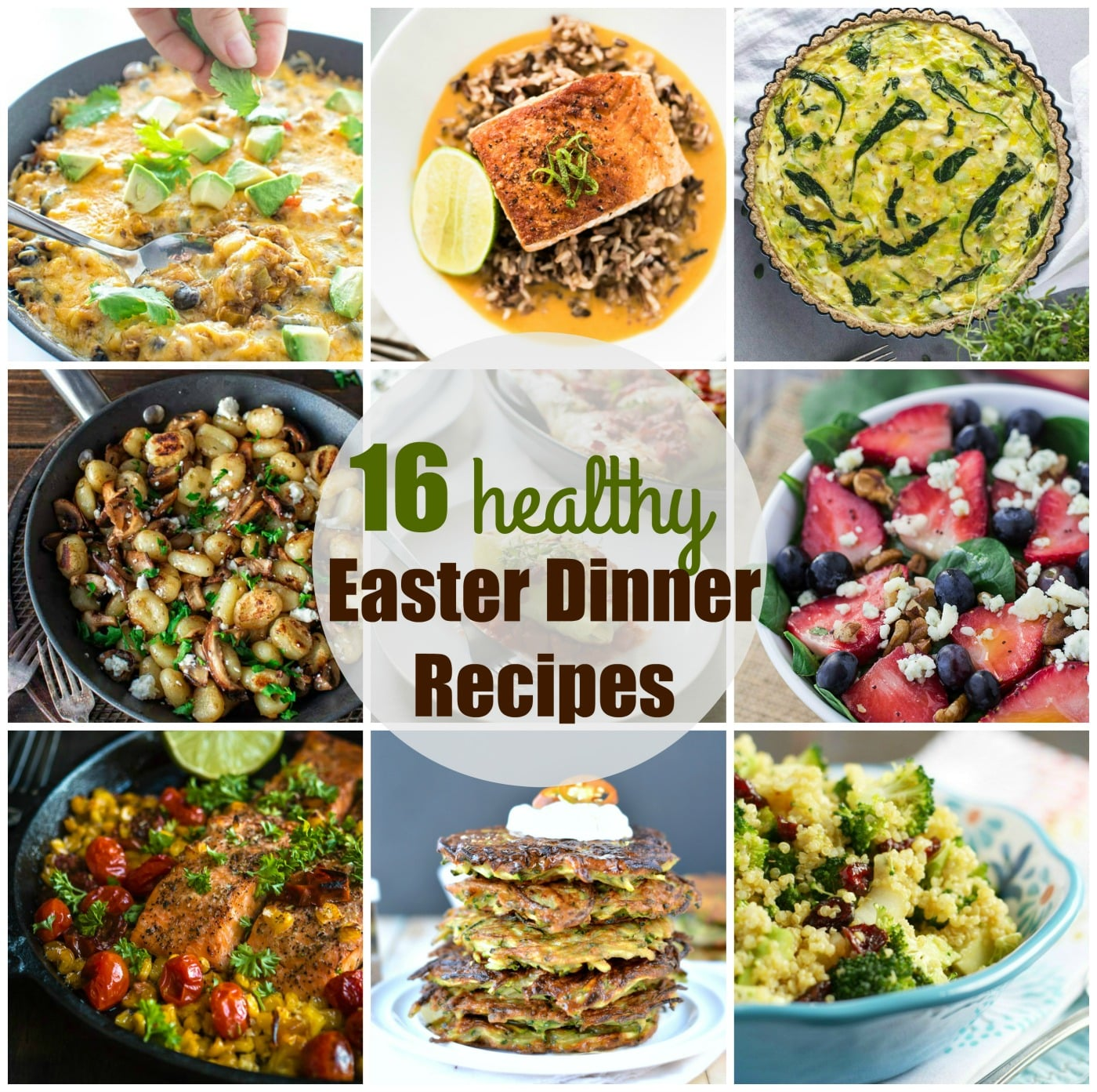 easter dinner recipes |16 healthy easter recipes - sweetashoney