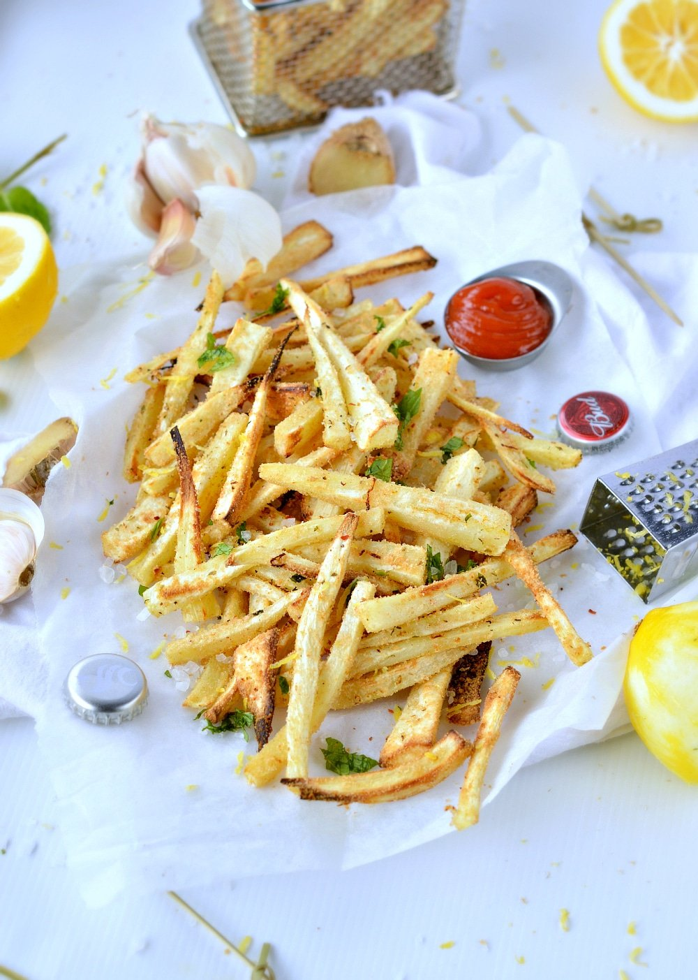 healthy fries