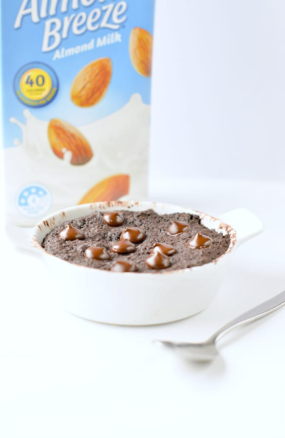 healthy mug brownie