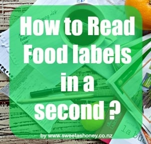 How to read food labels?