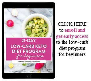 Low Carb Diet Program Registration