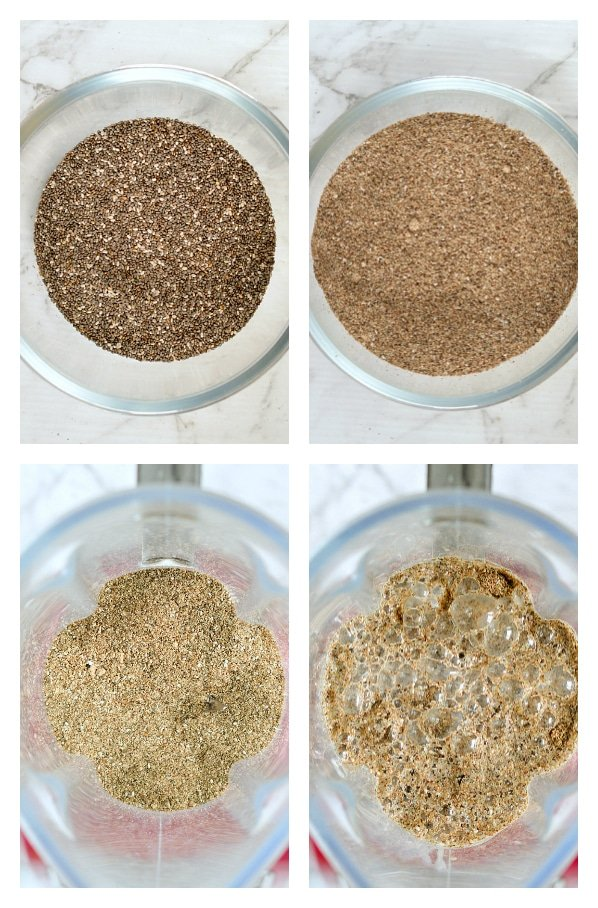 ground chia seeds pudding ingredients keto