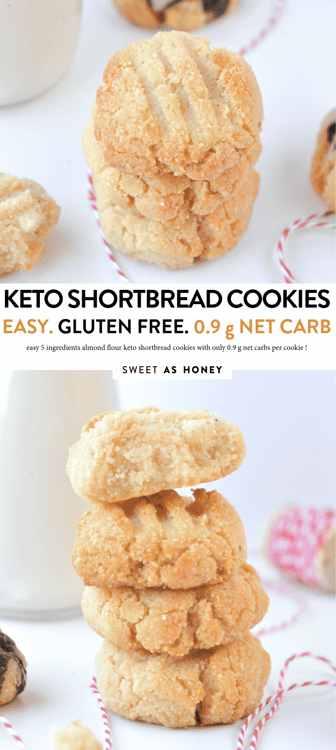 KETO SHORTBREAD COOKIES