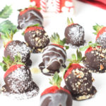 keto Chocolate covered strawberries