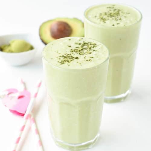 keto Matcha green tea smoothie