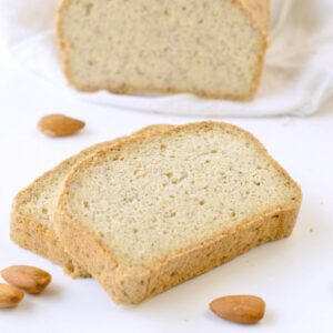 KETO ALMOND FLOUR BREAD LOAF easy NO eggs flavor #keto #ketobread #easy #lowcarb #nodairy #paleo #healthy #glutenfree