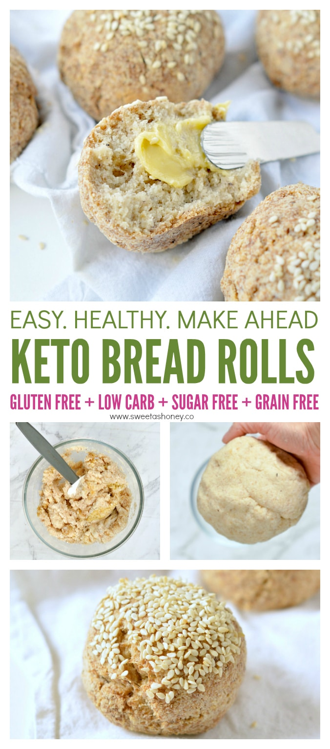 keto bread rolls low carb