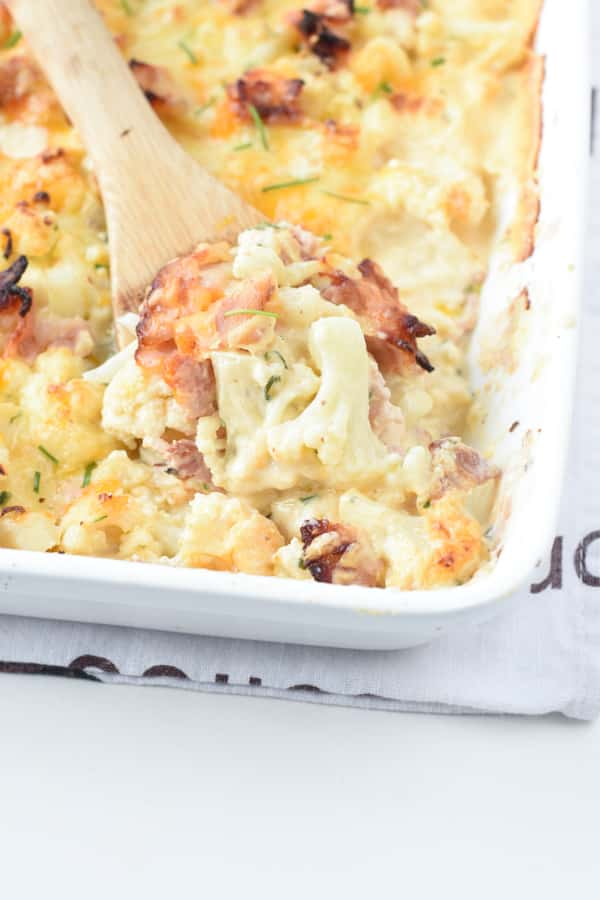 keto cauliflower casserole recipe