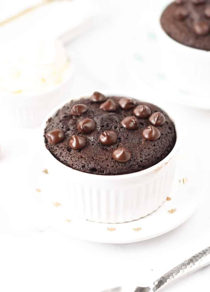 keto chocolate mug brownie