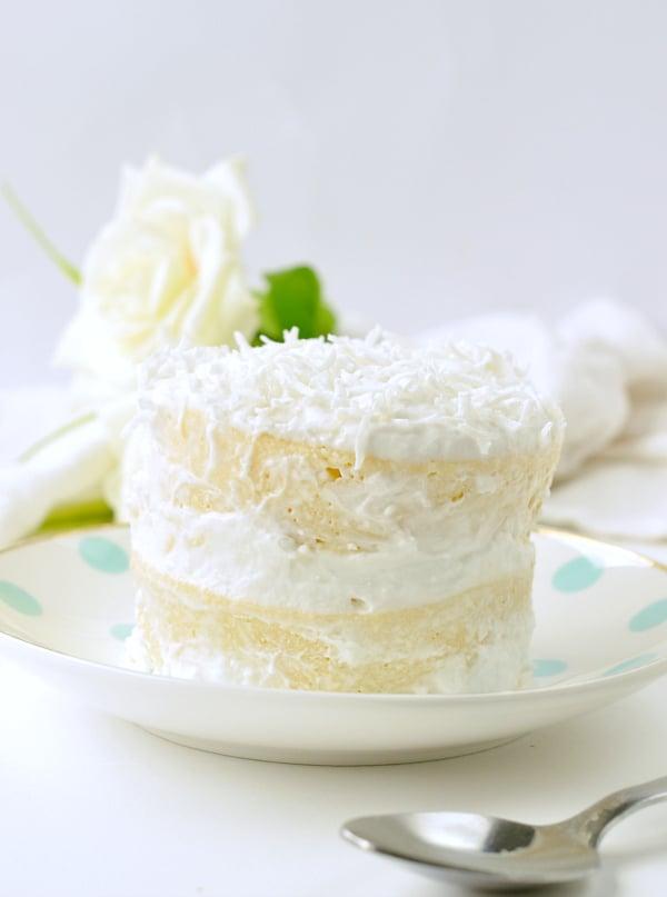 Astonishing Coconut Flour Mug Cake Keto Single Birthday Cake Sweetashoney Personalised Birthday Cards Paralily Jamesorg