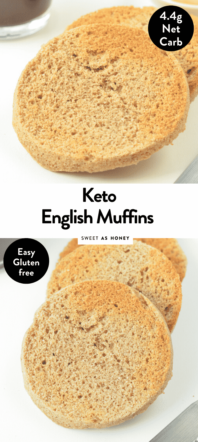 90 SECOND KETO ENGLISH MUFFINS with almond flour #ketoenglishmuffins #ketomicrowavemuffins #microwave #inamug #englishmuffins #lowcarbenglishmuffins #best #90secondsenglishmuffins #90seconds #lowcarb #bread #ketobread #lowcarbbread