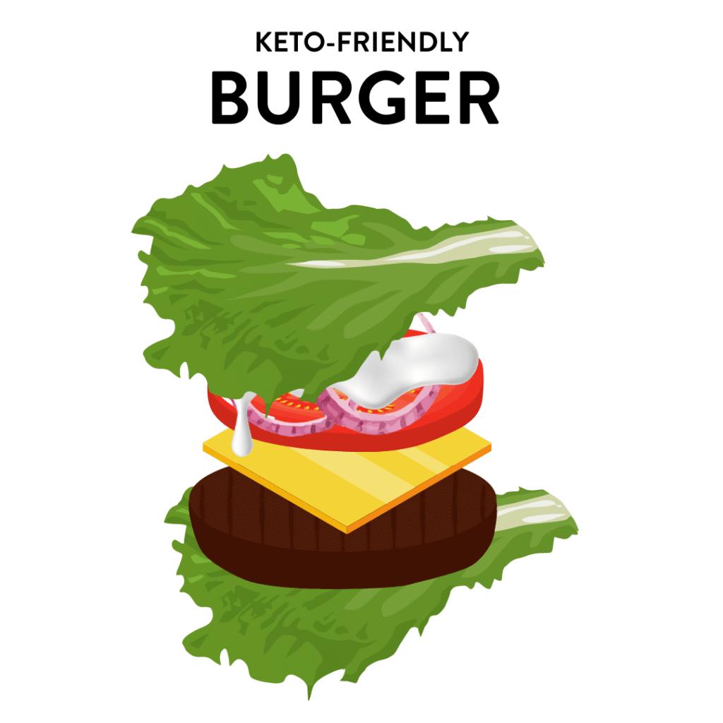 keto-friendly burger