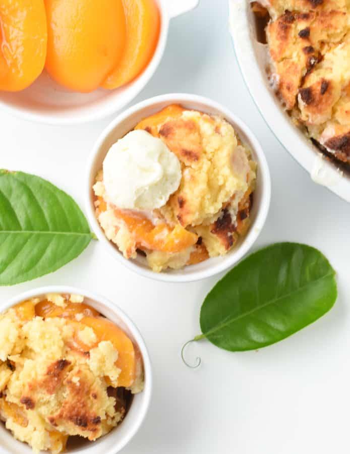 keto friendly peach cobbler recipe