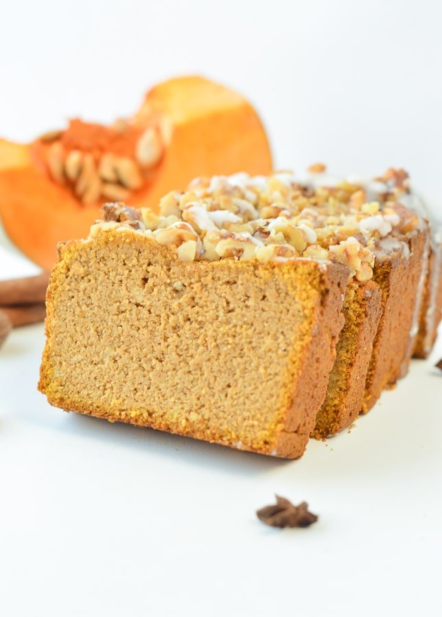 Keto Pumpkin Bread With Coconut Flour Sweetashoney
