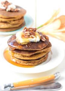 keto pumpkin pancakes with almond flour