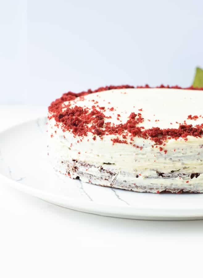 Easy Keto Red Velvet Cake