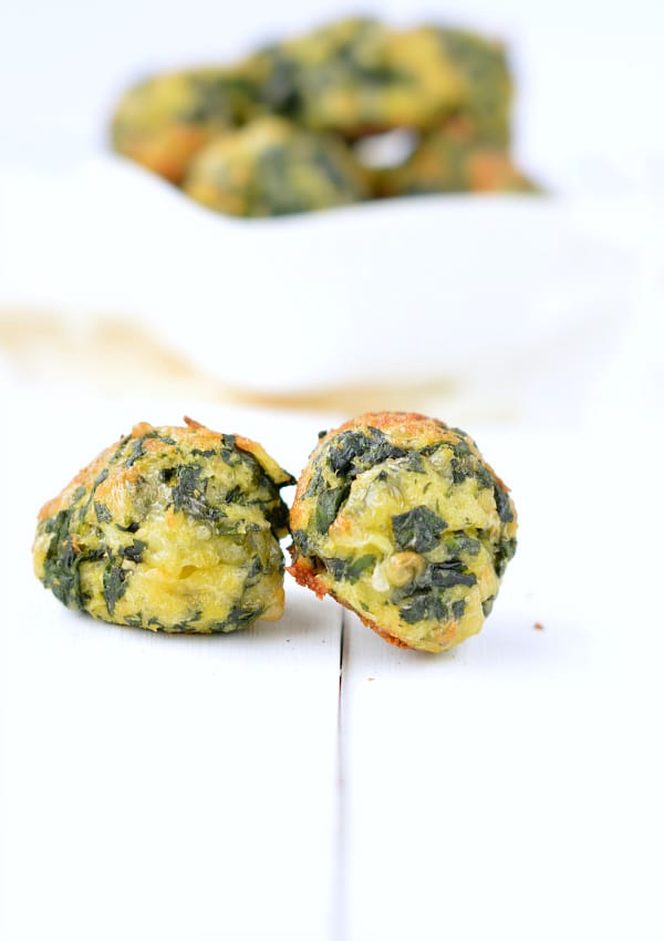 Easy spinach appetizer