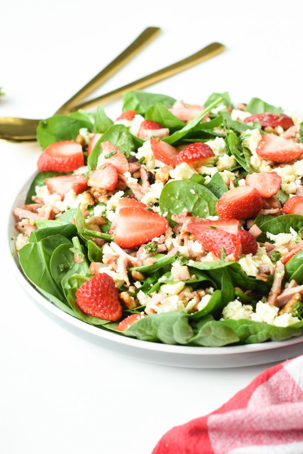 keto spinach saladketo spinach salad