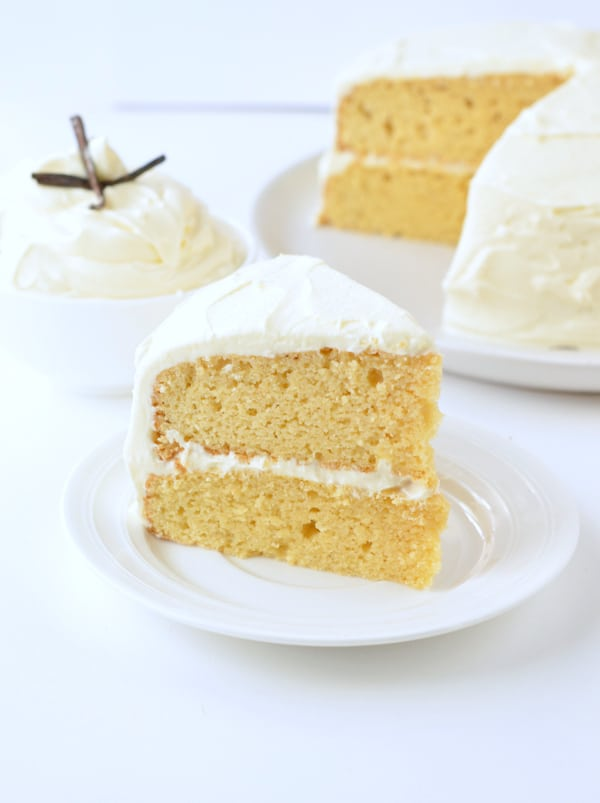 Excellent Keto Vanilla Cake Diabetic Birthday Cake Sweetashoney Funny Birthday Cards Online Overcheapnameinfo