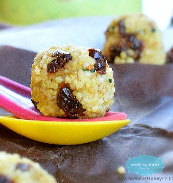Toddler Snack Balls with Millet