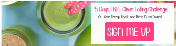 Clean eating challenge sign up