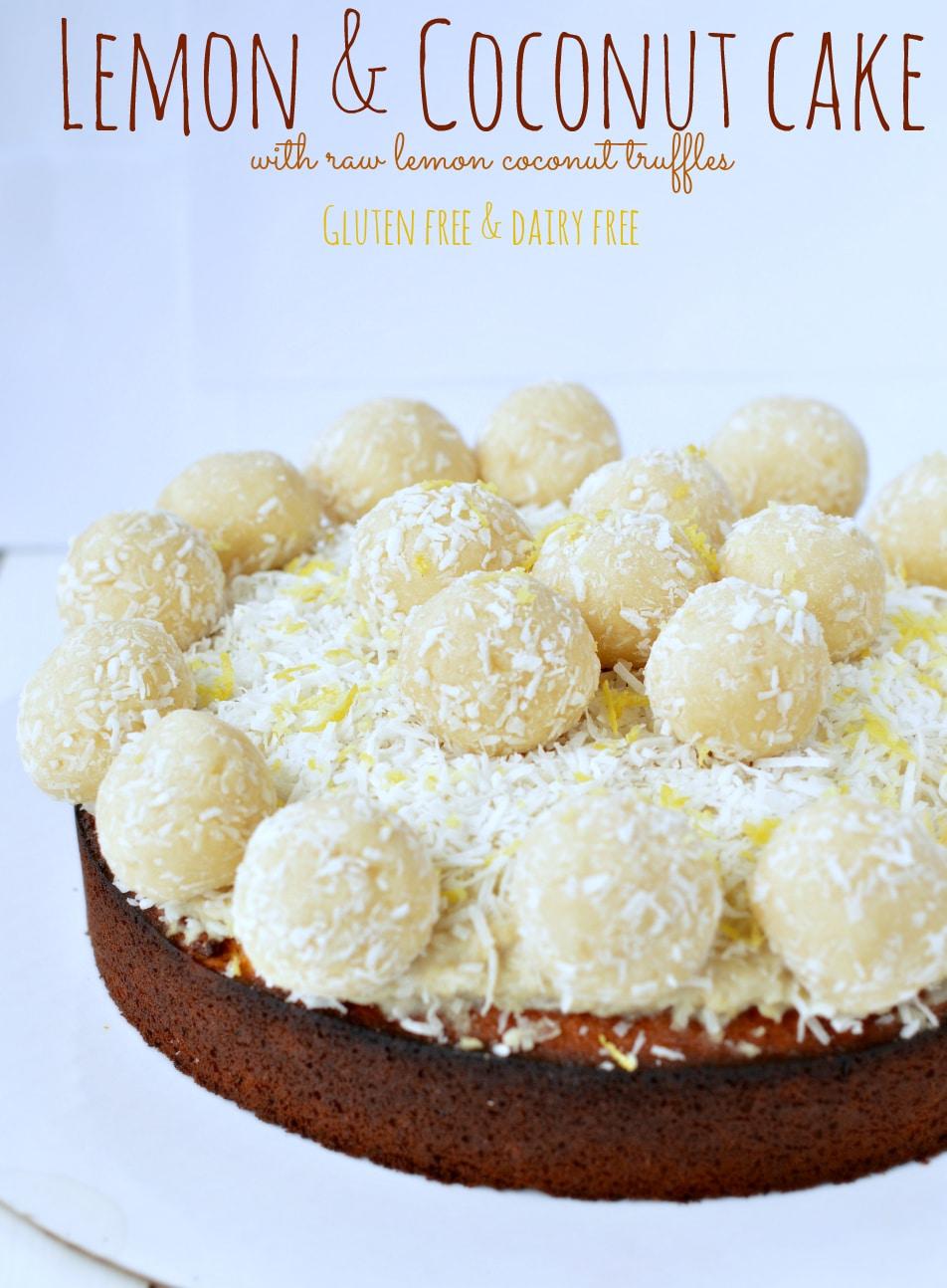Lemon Truffles With Cake Mix