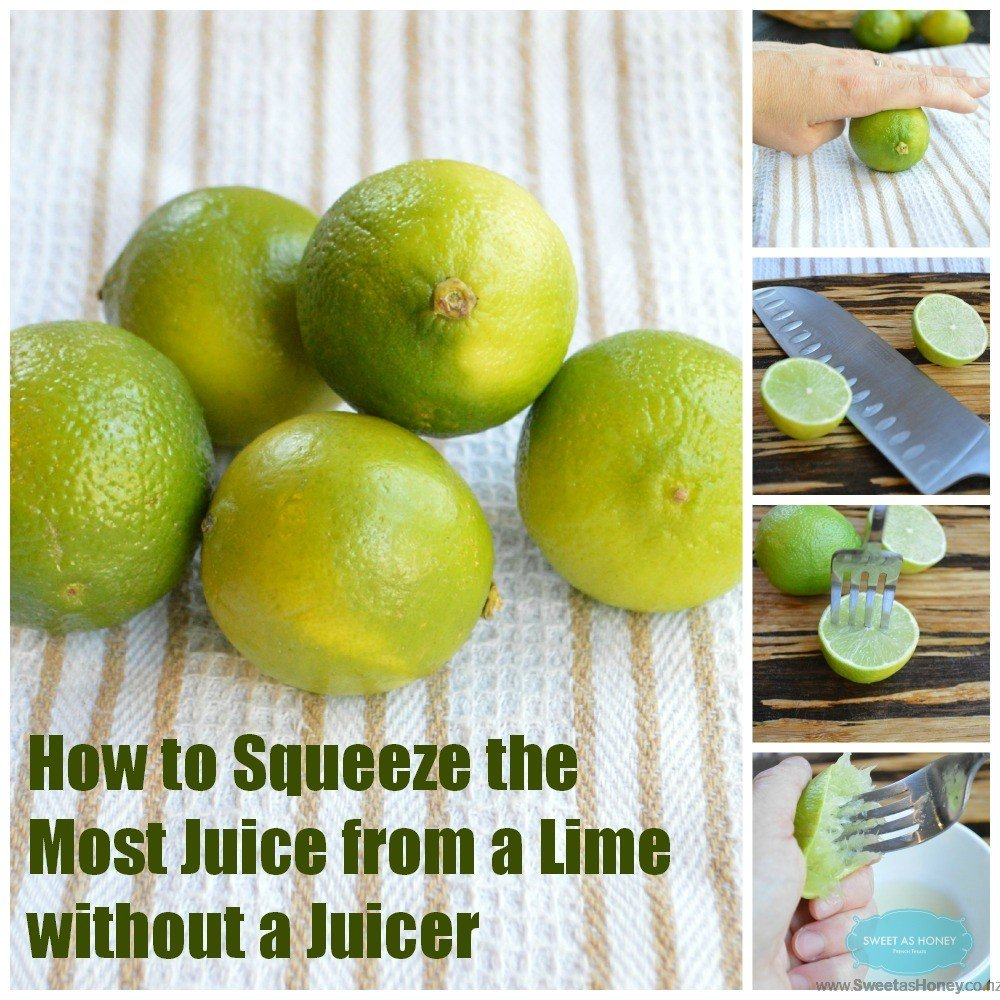 How to Squeeze the Most Juice from a Lime without a Juicer
