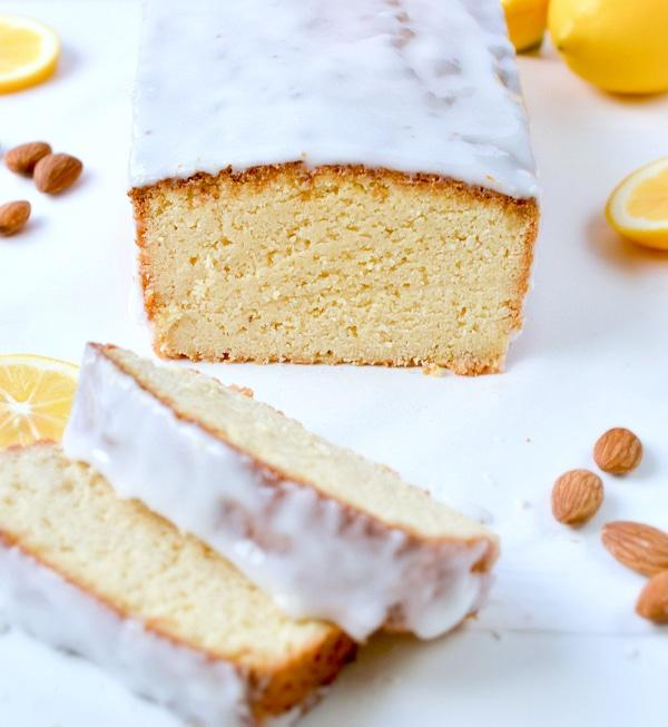 Keto lemon pound cake loaf