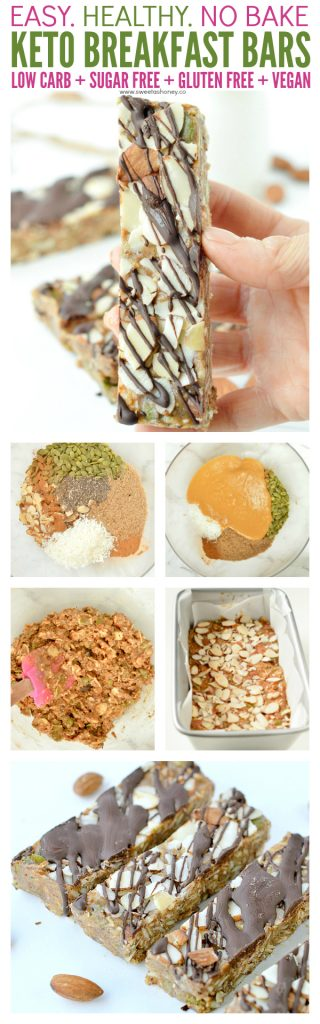 low carb breakfast bars