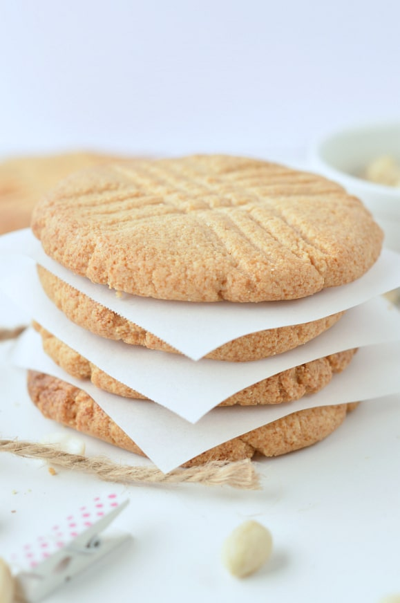 low carb peanut butter cookies almond flour